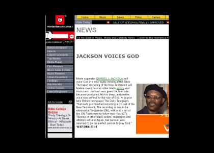 Samuel L. Jackson to Play GOD