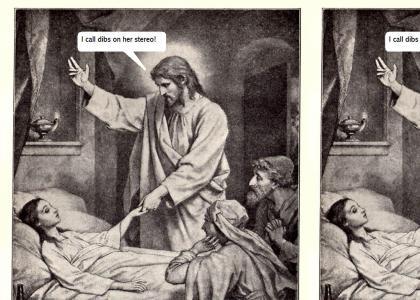 jesus calls the dead chicks stuff