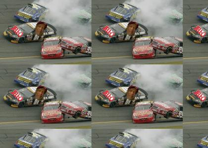 Bill Cosby Wins a NASCAR Race