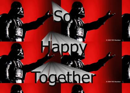 Vader and Luke - So Happy Together (Refresh)