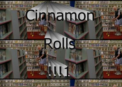 I Smell Cinnamon Rolls