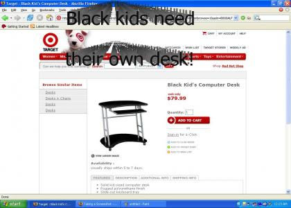 Target is Racist against black people