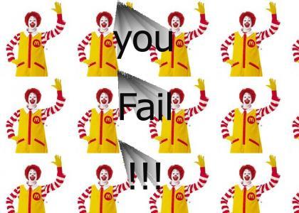 You fail at life