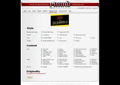 Create-a-Site Made Easy!