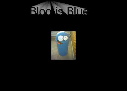 Blooreguard Q Kazoo is Blue