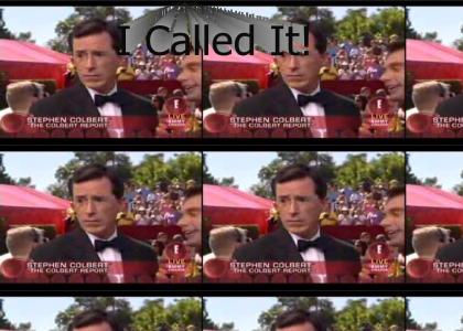 Colbert Calls It