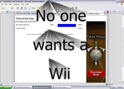 No One Wants a Wii