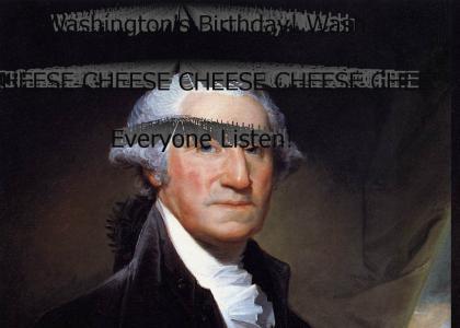 Washington's Birthday Cheese