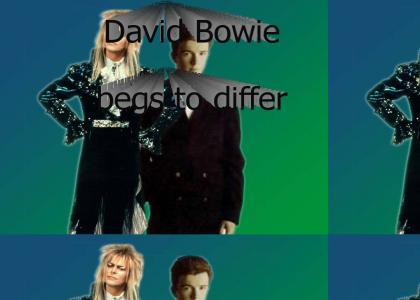 David Bowie Disagrees