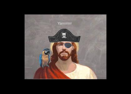 Jesus is a pirate!
