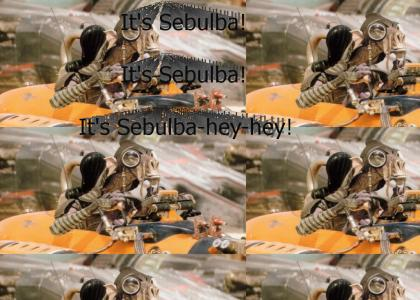 It's Sebulba! It's Sebulba!