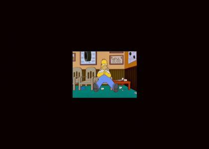 Homer bored...