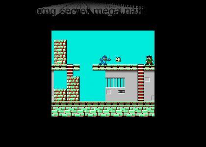 OMG Secret Nazi Mega Man 1