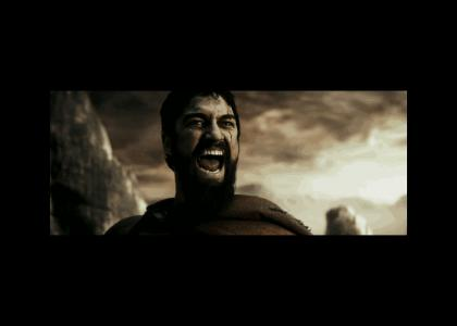 300TMND:  Leonidas' epic facemelter EXTENDED