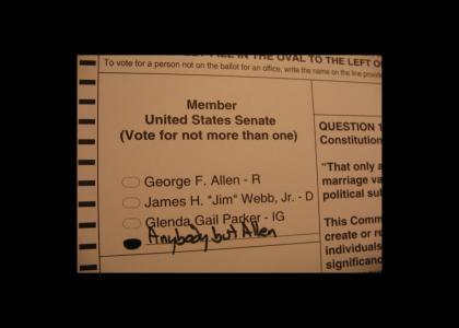 Idiot Virginia Voter