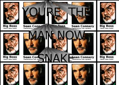 Sean Connery in Metal Gear Solid