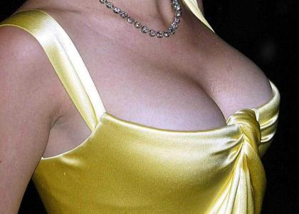 Scarlett Johansons boobs... stare into your soul.