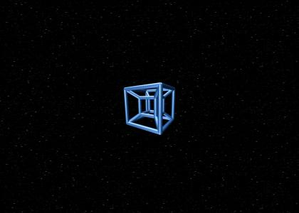 4D cube travel
