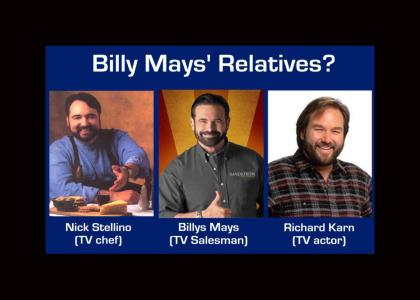 Billy Mays' Relatives?