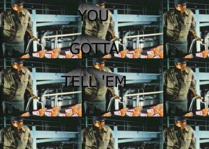 Soylent Green is CHICKEN FRIIIIIEEESSS!!!
