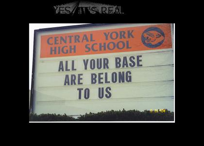 All Your School Are Belong To Us