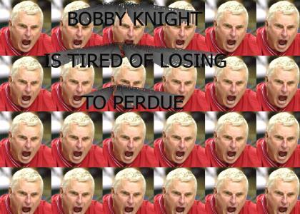 """Bobby Knight vs. Eminem's """"The Way I Am"""""""