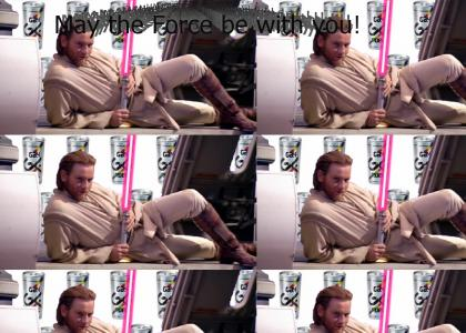 Obi Wan taps into the GAY side of the force