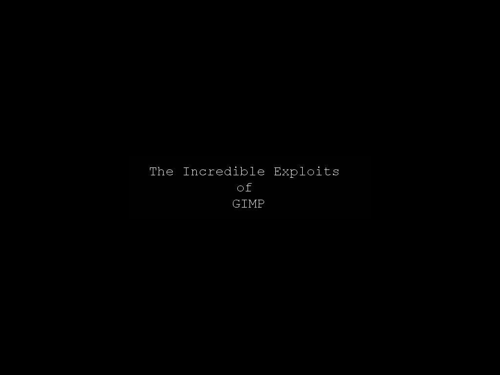 exploitsofgimp