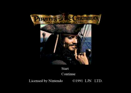 nes pirates of the caribbean (fixed sound)