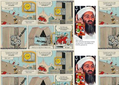 Swedish Donald Duck Terrorism