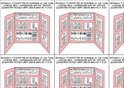 The Math of Cunnilingus