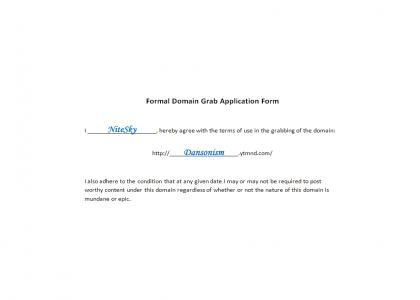 Formal Domain Grab