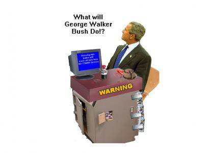 What will George W. Bush do!?