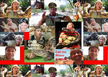 Steve Irwin's ultimate fantasies