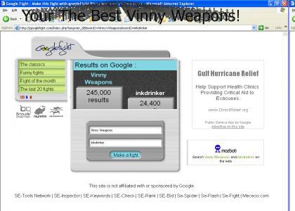 Vinny Weapons beats inkdrinker!