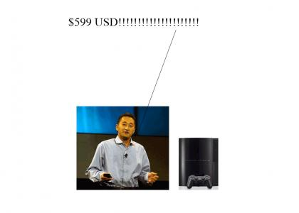 BEST SITE MADE TODAY - Kaz frustrates Sony fans by telling them the price of the PS3