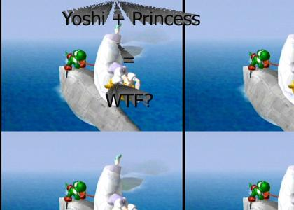 Yoshi and Princess WTF?