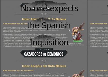 Spanish Inquisitor