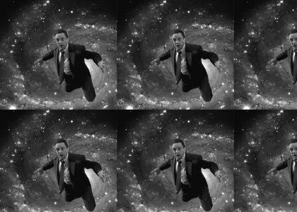 christopher walken flys to outer space(crank up your sound)