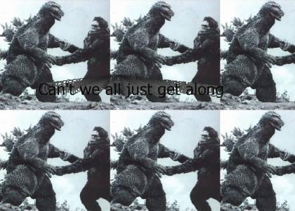 King Kong vs Godzilla!!!