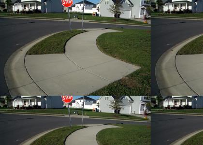 Mystery Sidewalk!