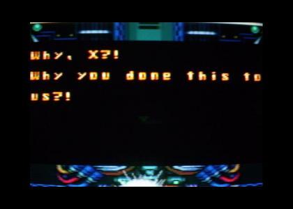 Megaman X grammar fails at life.