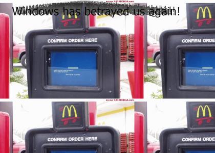 McDonalds Runs On Windows