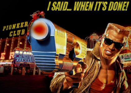 Duke Nukem Forever release date!