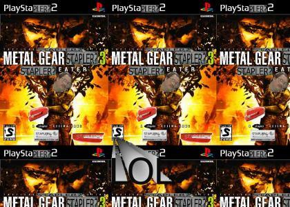 METAL GEAR STAPLER 3: STAPLER EATER
