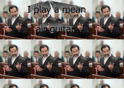 Saddam's Air Guitar