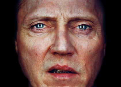 Christopher Walken stares into your soul... and pierces it