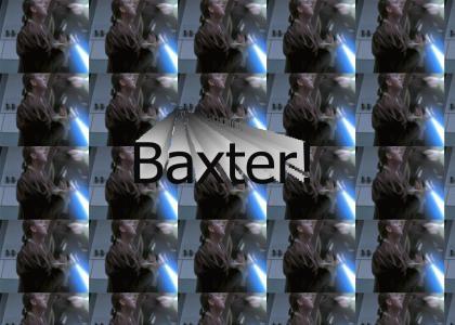 Obi Wan punts Baxter