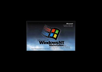 Windows NT logo and jingle
