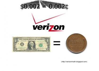 Verizon Fails at Math (long)